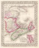 Mitchell: Canadian Maritime Provinces with Halifax