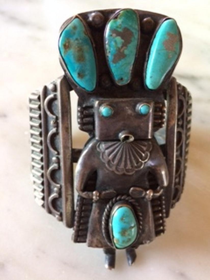 Antique 1930's Navajo or Zuni Cuff