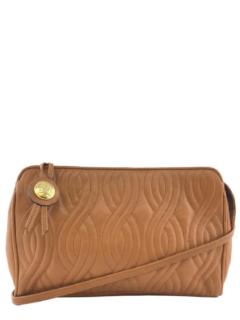 Fendi Pasta Quilted Crossbody Clutch