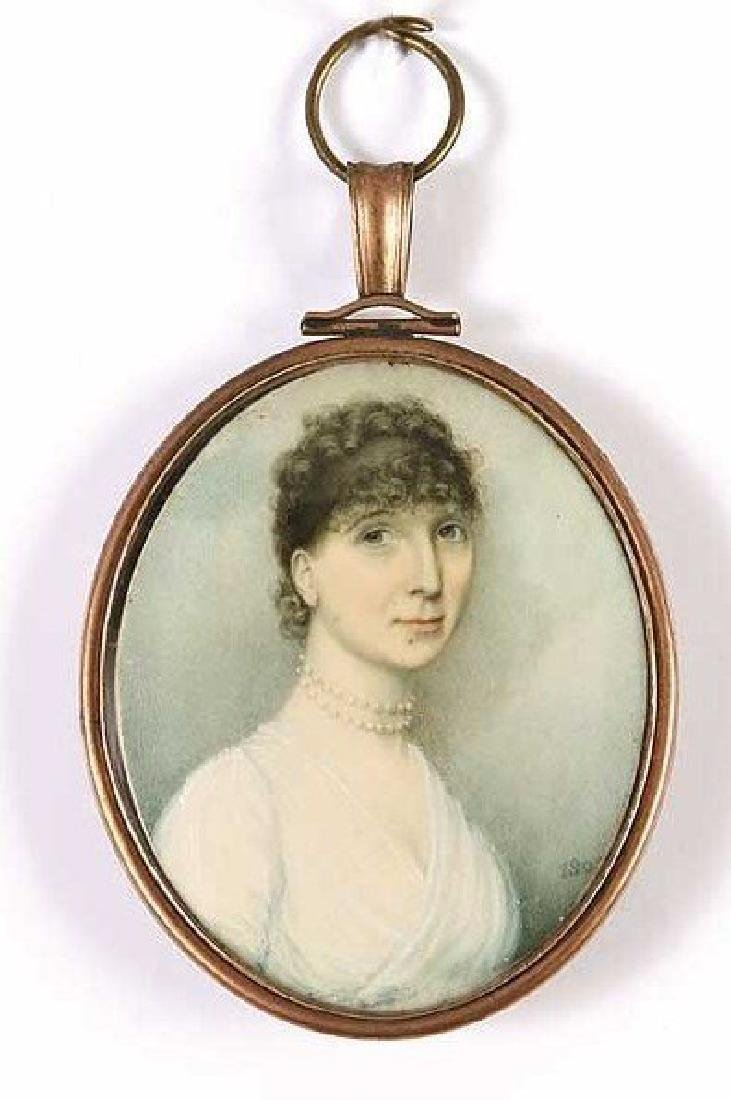 Miniature Painting Thomas Hazlehurst c1805