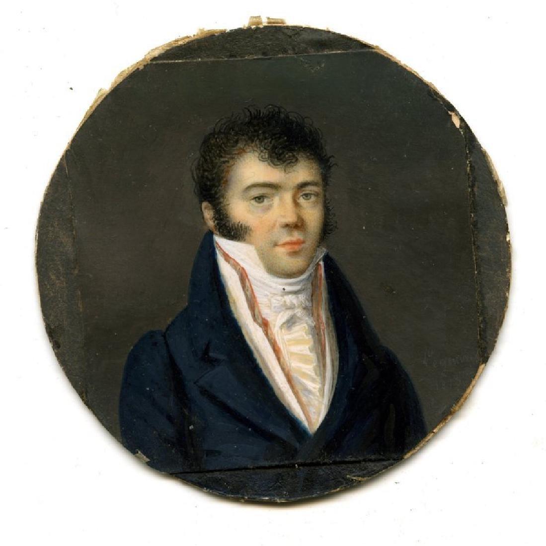 Miniature Portrait by Legenvre c1813