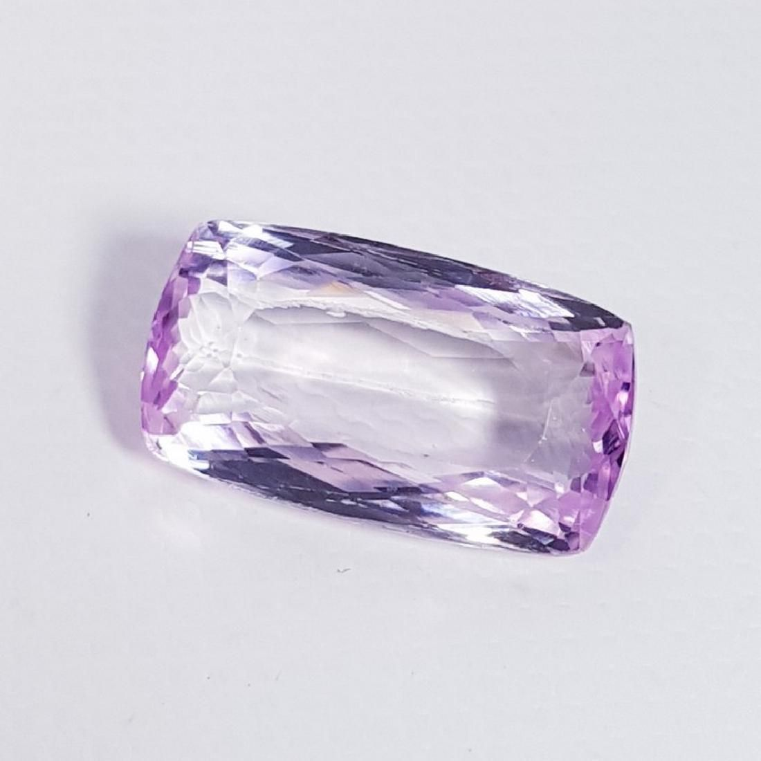 5.80 ct Top Quality Cushion Cut Natural Pink or Purple
