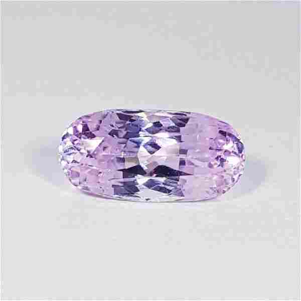 7.94 ct Top Grade Oval Cut Natural Pink or Purple