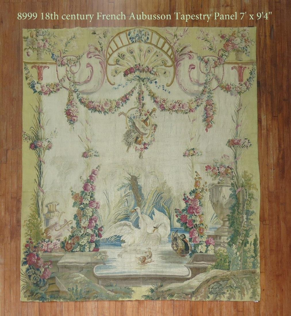 18th Century French Aubusson Tapestry Panel