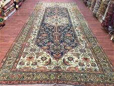 Antique Persian Gallery size Bibikabad rug-2992