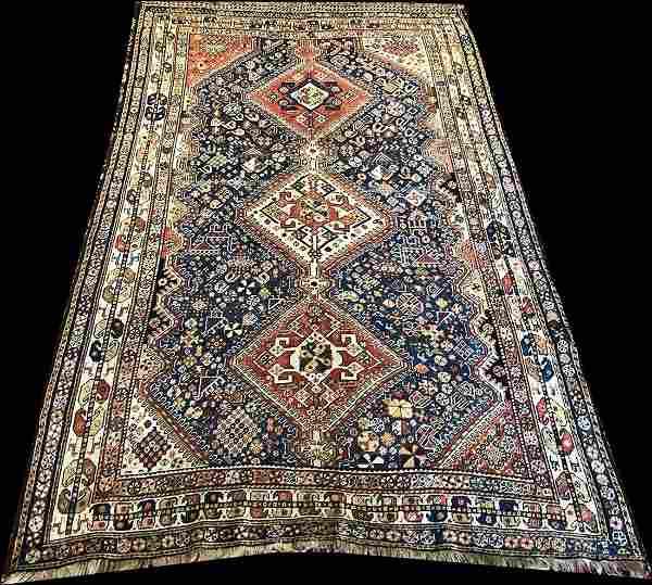 An Antique SW Persian Qashqai Rug