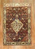 Folk Art Antique Decorative Persian Malayer Rug
