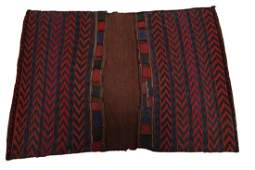 Antique Northwest Persian Saddlebag Rug Hand woven