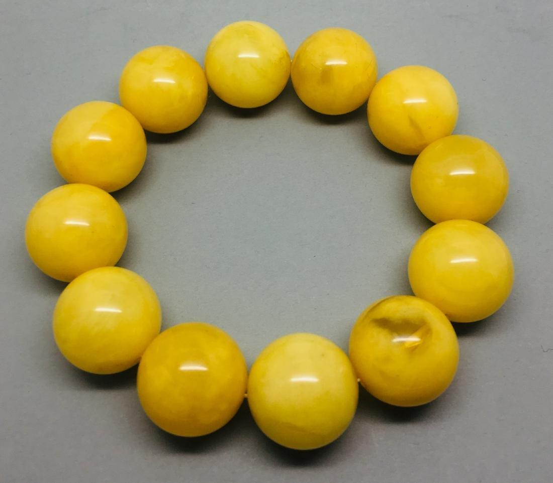 Big Baltic Amber bracelet