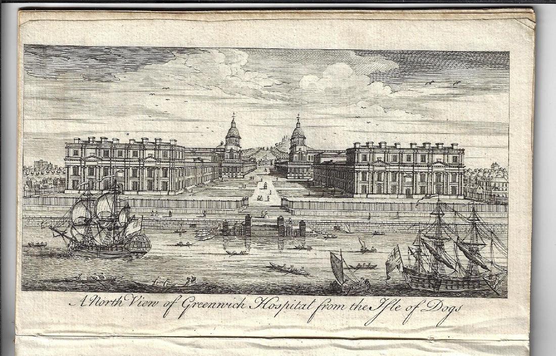1748 Gentleman's Magazine w/ Three Engravings