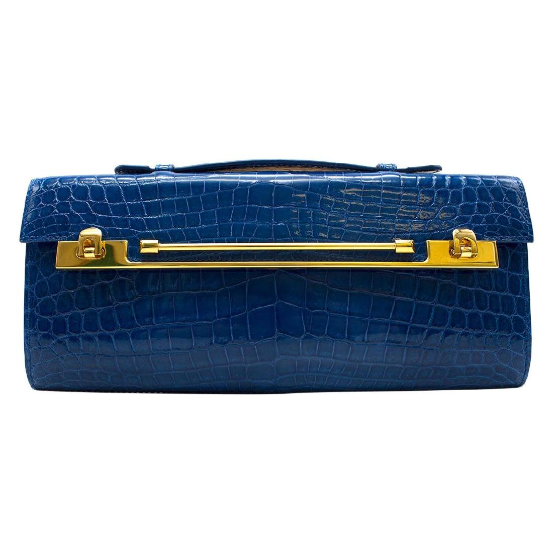 Kwanpen Tanzanite Raffles 1819 Clutch - Current Season