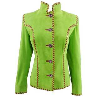 048d118d4af Yves Saint Laurent AW 1999 Haute Couture Lime Green and