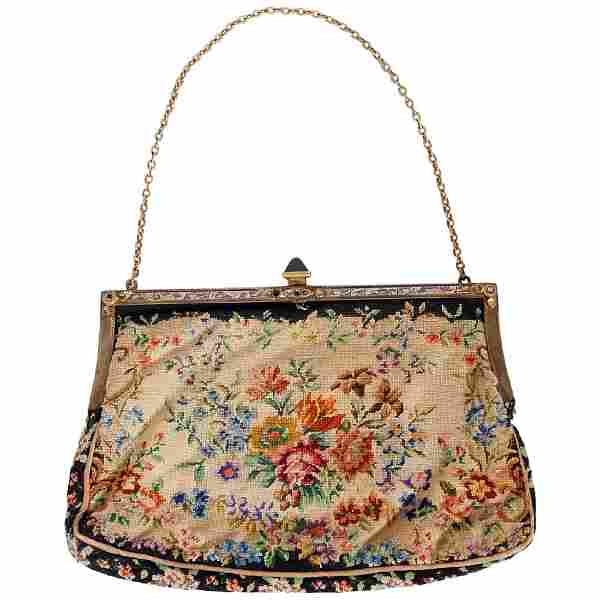 Marilyn Monroe Owned Needlepoint Purse Worn for