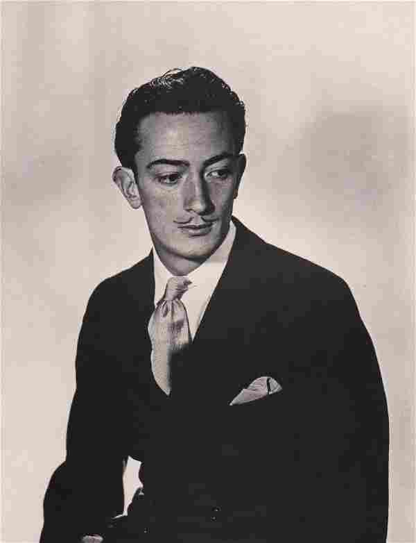 MAN RAY - Salvador Dali as a young man