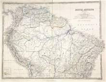 Johnston: Northern South America with Key to Railways