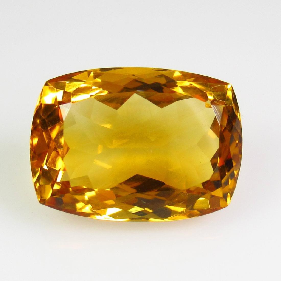 9.09 Ct Genuine Madeira Brandy Yellow Citrine Oval