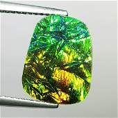 375 ct Mexican Fire Opal Doublet