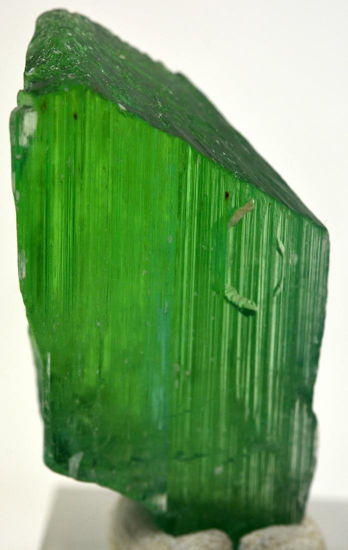 19 Grams Lush Green Terminated Kunzite Crystal