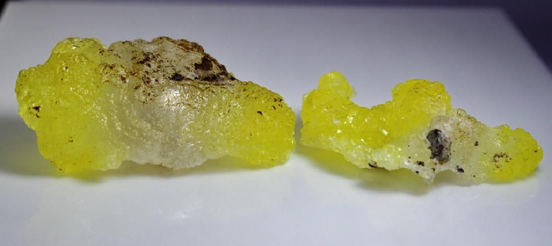 Natural & Unheated~ Yellow Brucite Rough Lot
