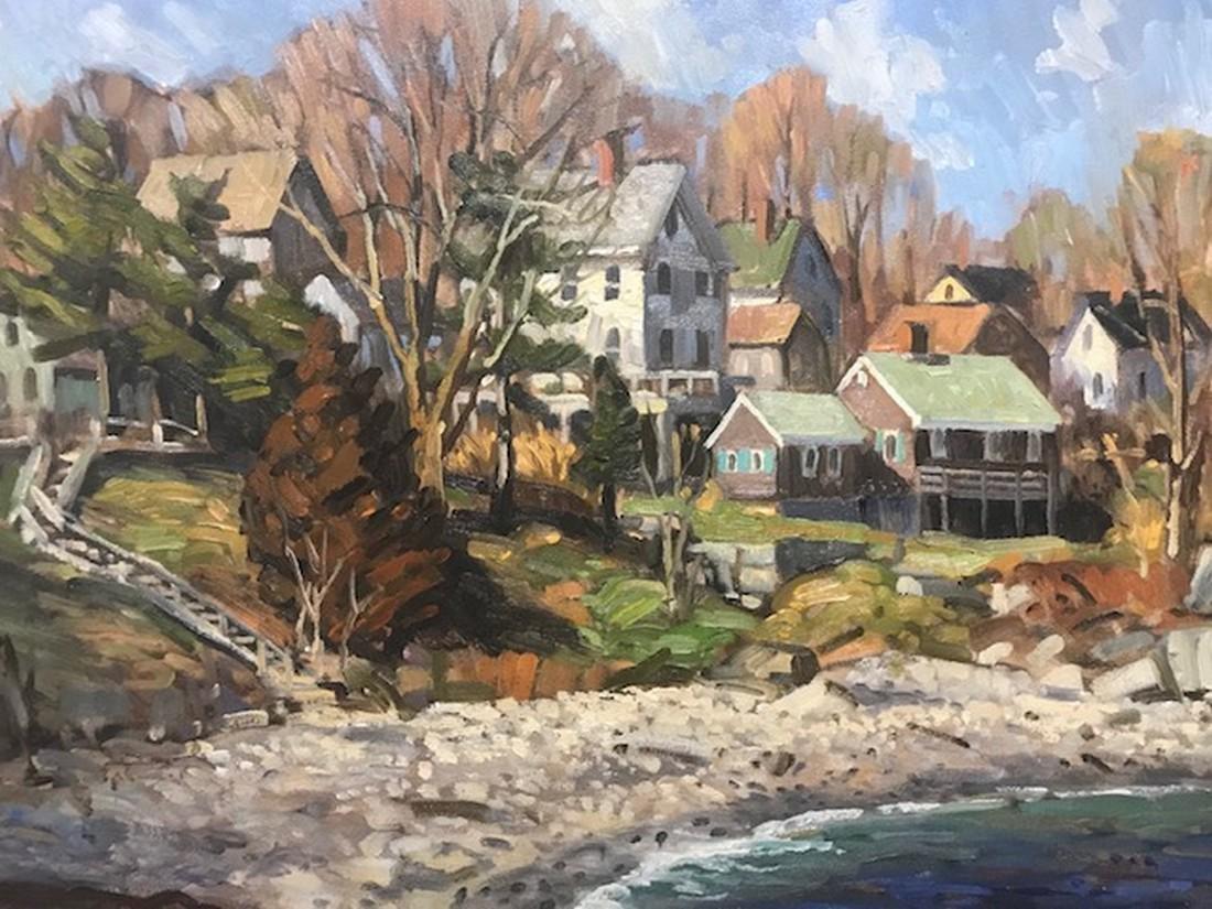 "Ken Knowles: ""Granite Cove - Rockport"""