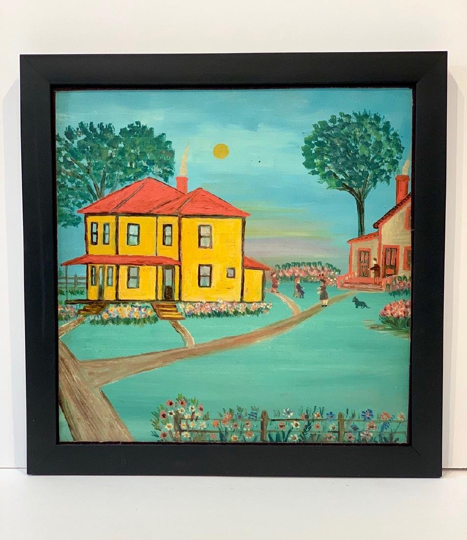 Naive House Painting, c. 1920