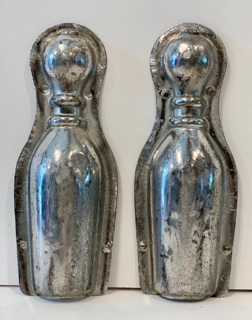 Early 20th c Bowling Pin Chocolate Mold