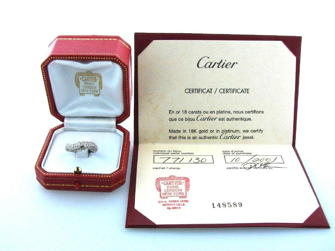CARTIER AUTNETHIC BOX PAPERS 51 BAMBOO 18K 750 WHITE