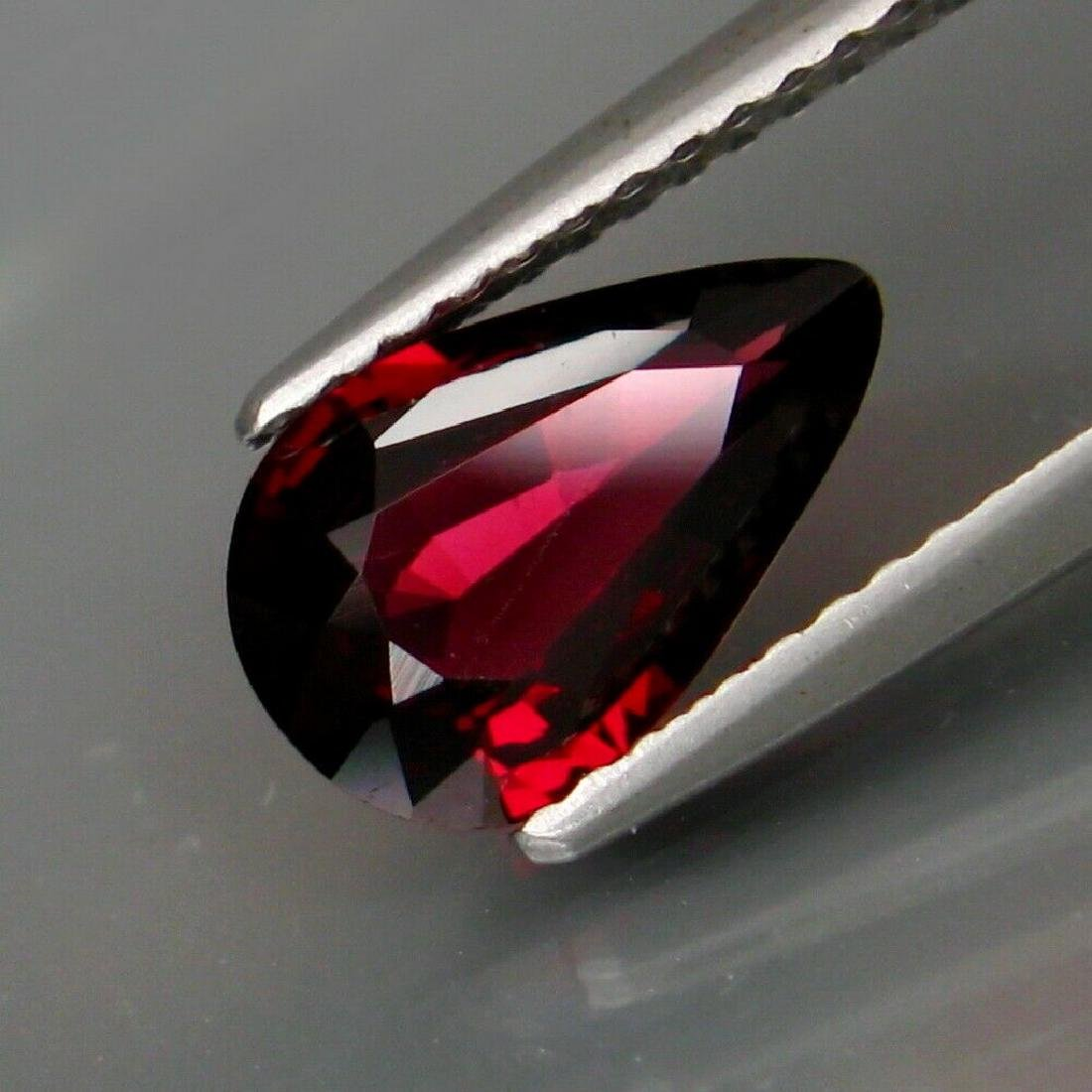 1.50 ct certified red spinel