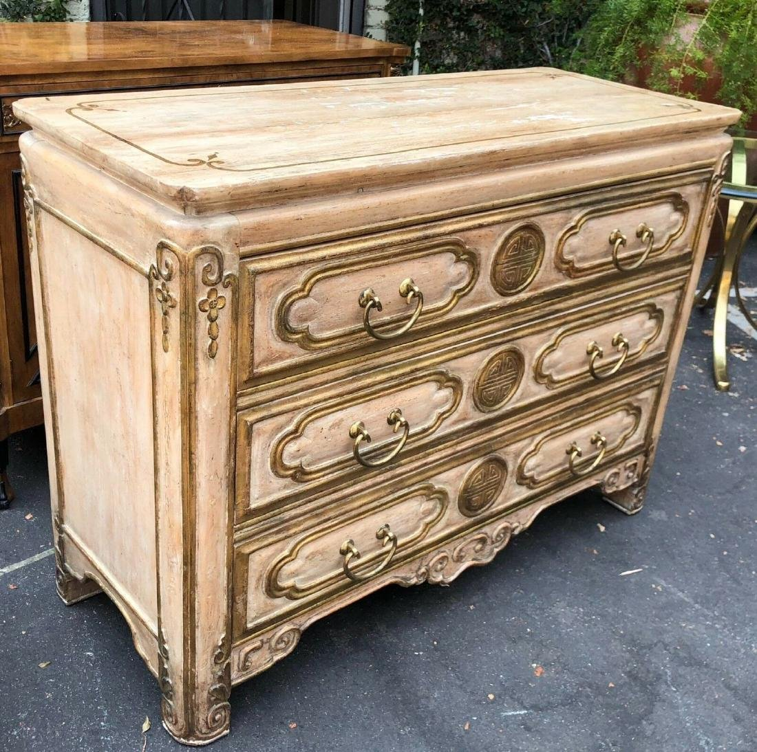 Superb Chinese Chippendale Style Commode by Traditional