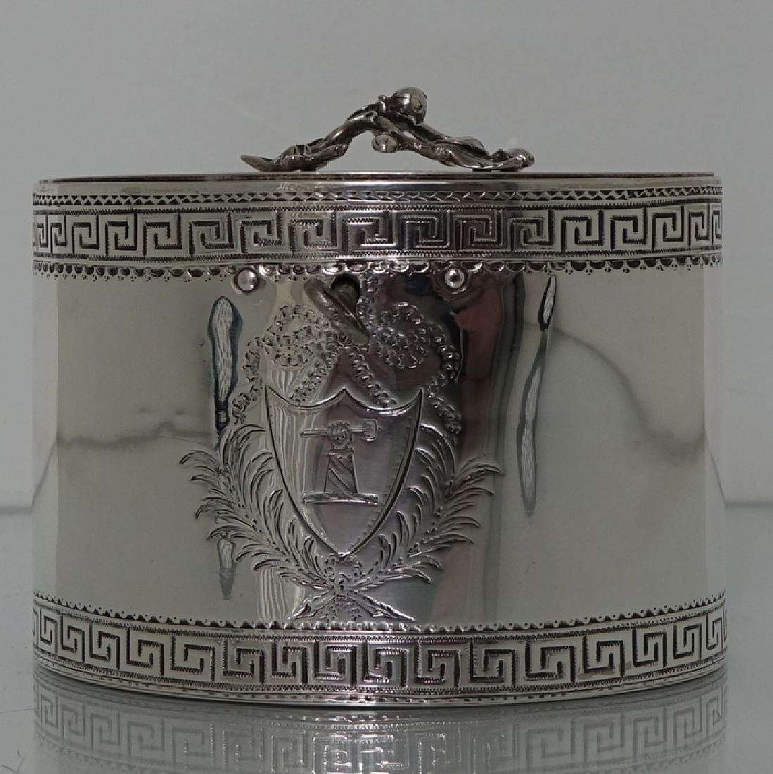 18th Century George III Antique Sterling Silver Tea