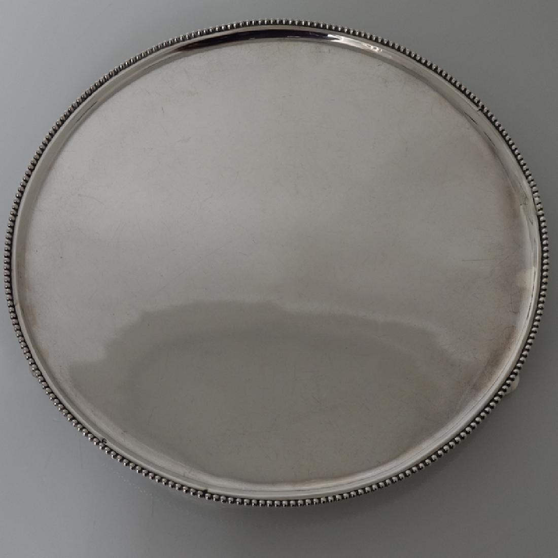 18th Century Silver Dutch Salver Amsterdam 1792