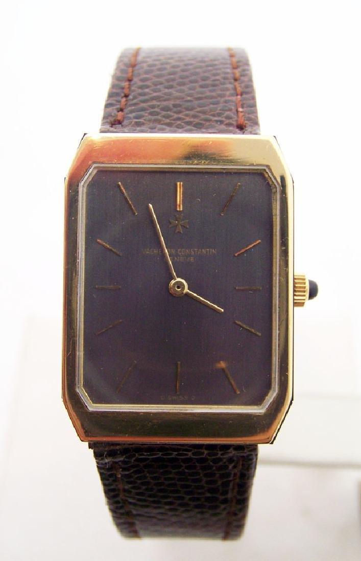 Vintage 18k Yellow Gold VACHERON CONSTANTIN Unisex