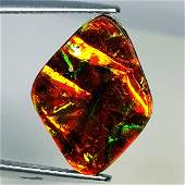 556 ct Mexican Fire Opal Doublet