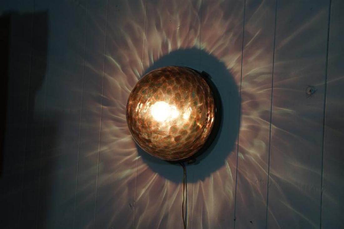 Murano Globe Wall Light
