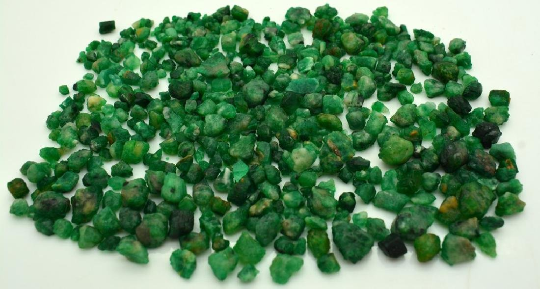 100 Grams Beautiful Rough Emerald