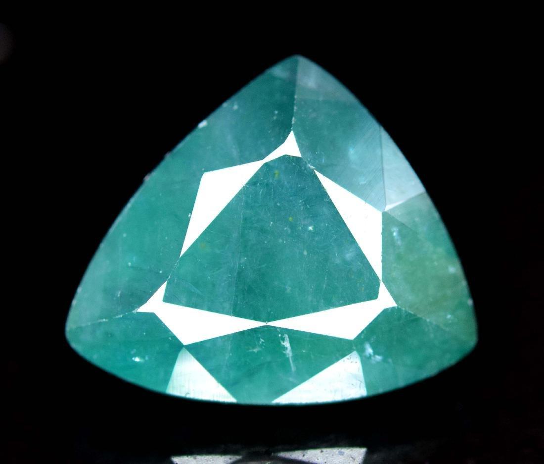 5.35 cts Rare Grandidierite Facet Gemstone From