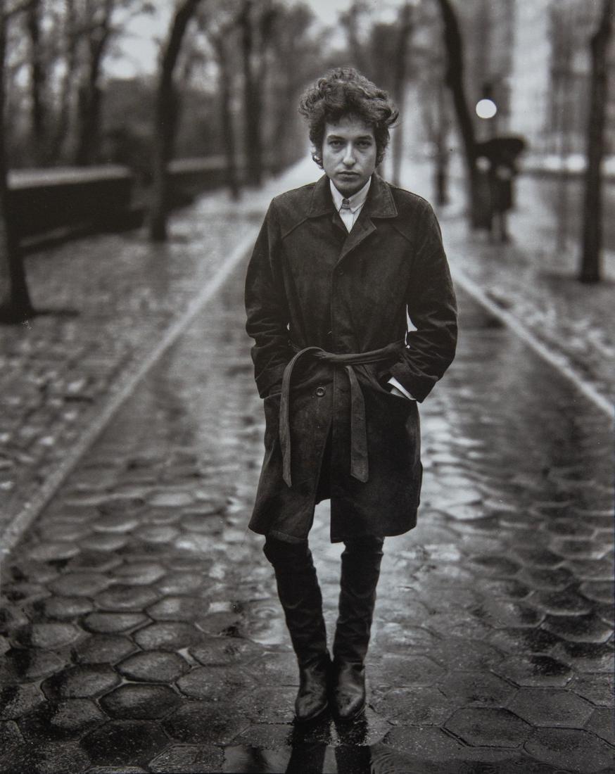 RICHARD AVEDON - Bob Dylan, New York City