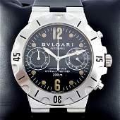 Bulgari - Diagono Scuba chronograph - SCB 38 S - Men -