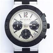 Bulgari - Diagono Scuba Aluminium chronograph - SCB 38