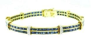 2f7a6da30 MELLERIO Diamond 18k Yellow Gold Retro BRACELET 1940s - Feb 27, 2019 ...