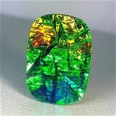 664 ct Mexican Fire Opal Doublet