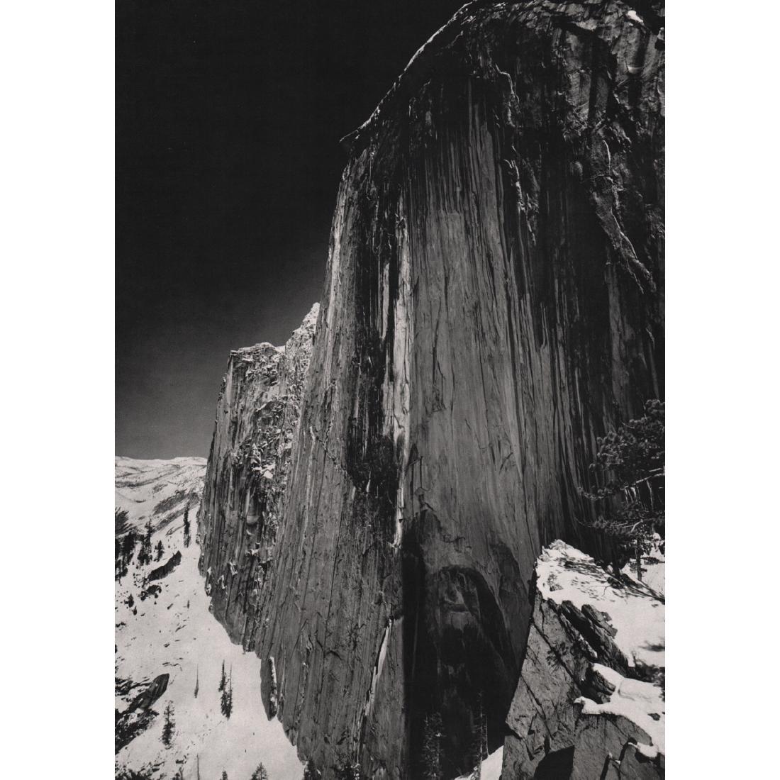 ANSEL ADAMS - Monolith - The Face of Half Dome, 1927