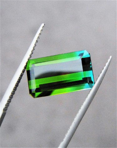 Green Blue Tourmaline Certified - 4.25 ct
