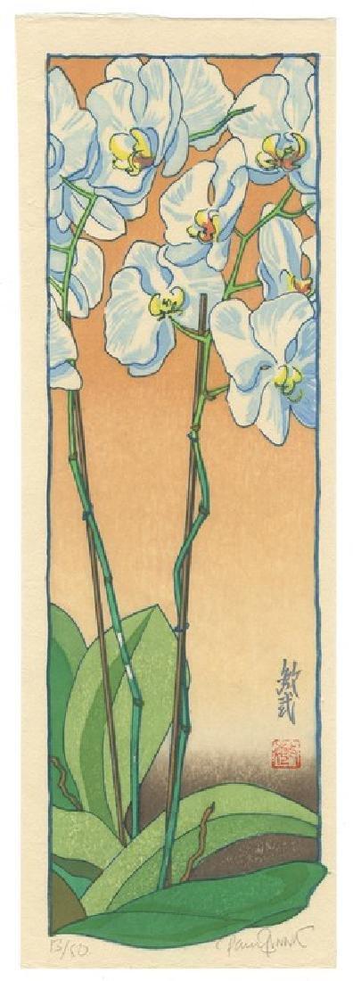 Paul Binnie (1967-): Asa no Ran (Orchids - Morning)
