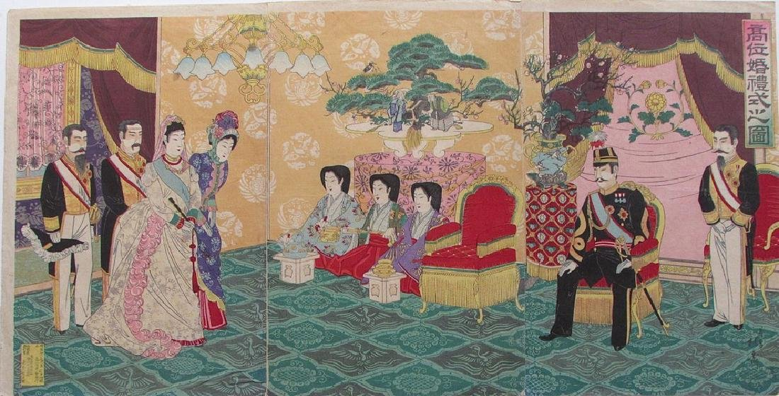 Nobukazu   The Emperor receiving guests
