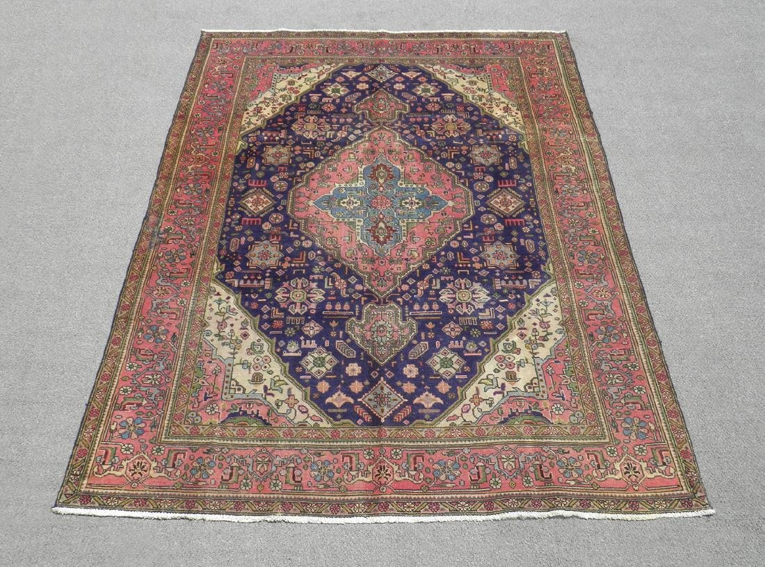 Gorgeous Semi Antique Persian Tabriz 9.7x6.9