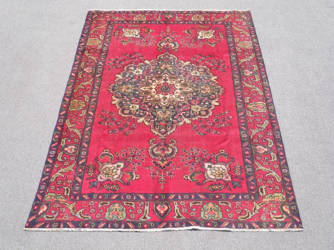 Quality Semi Antique Persian Tabriz 9.4x6.4