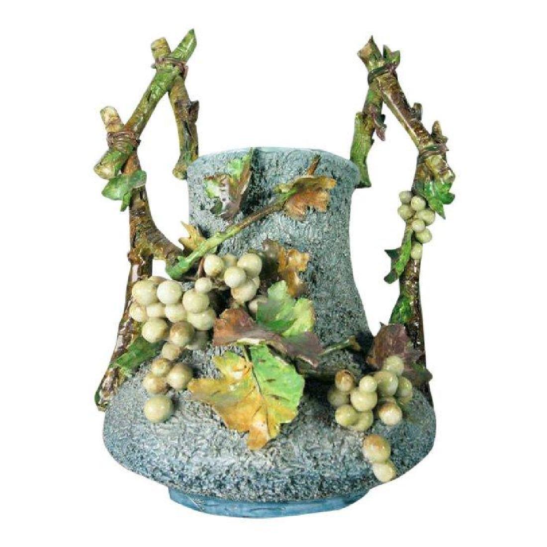 Italian Majolica Vintage Vase