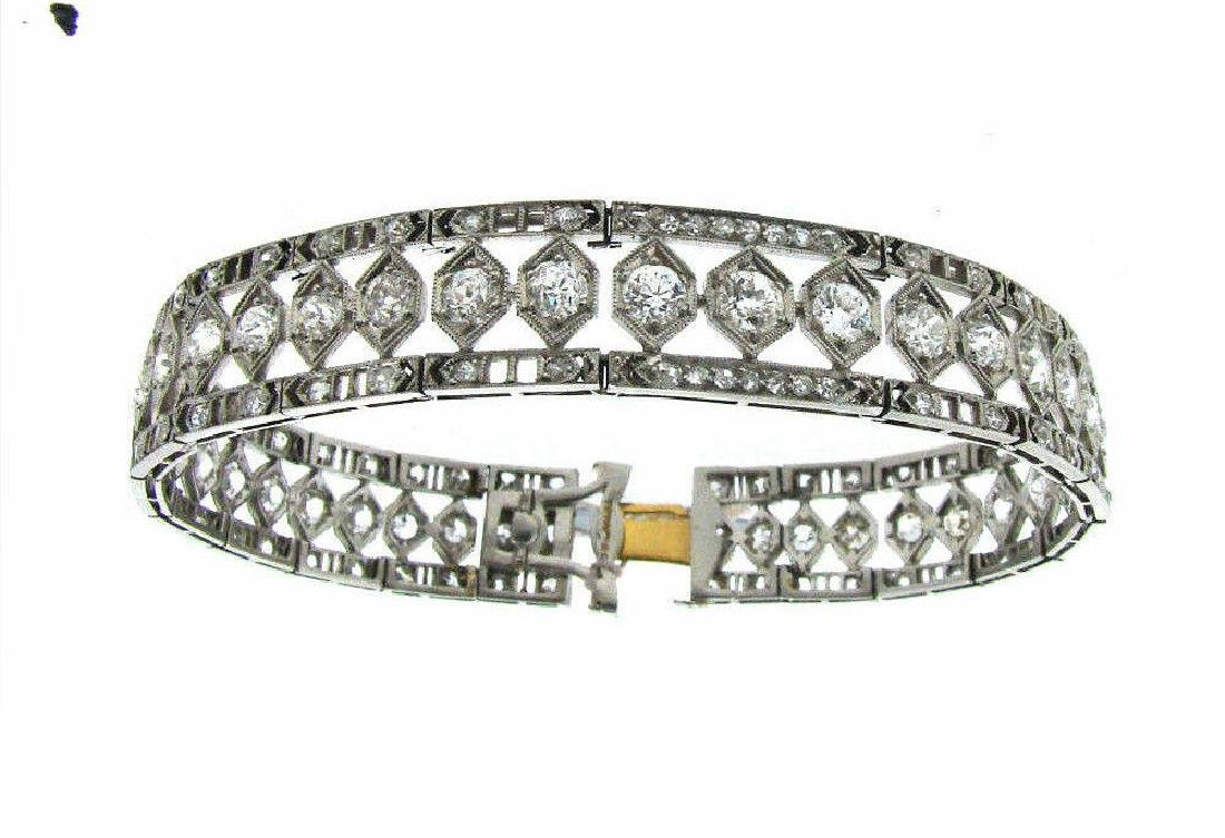 T&CO. TIFFANY & CO. C.1910 ANTIQUE EDWARDIAN DIAMOND