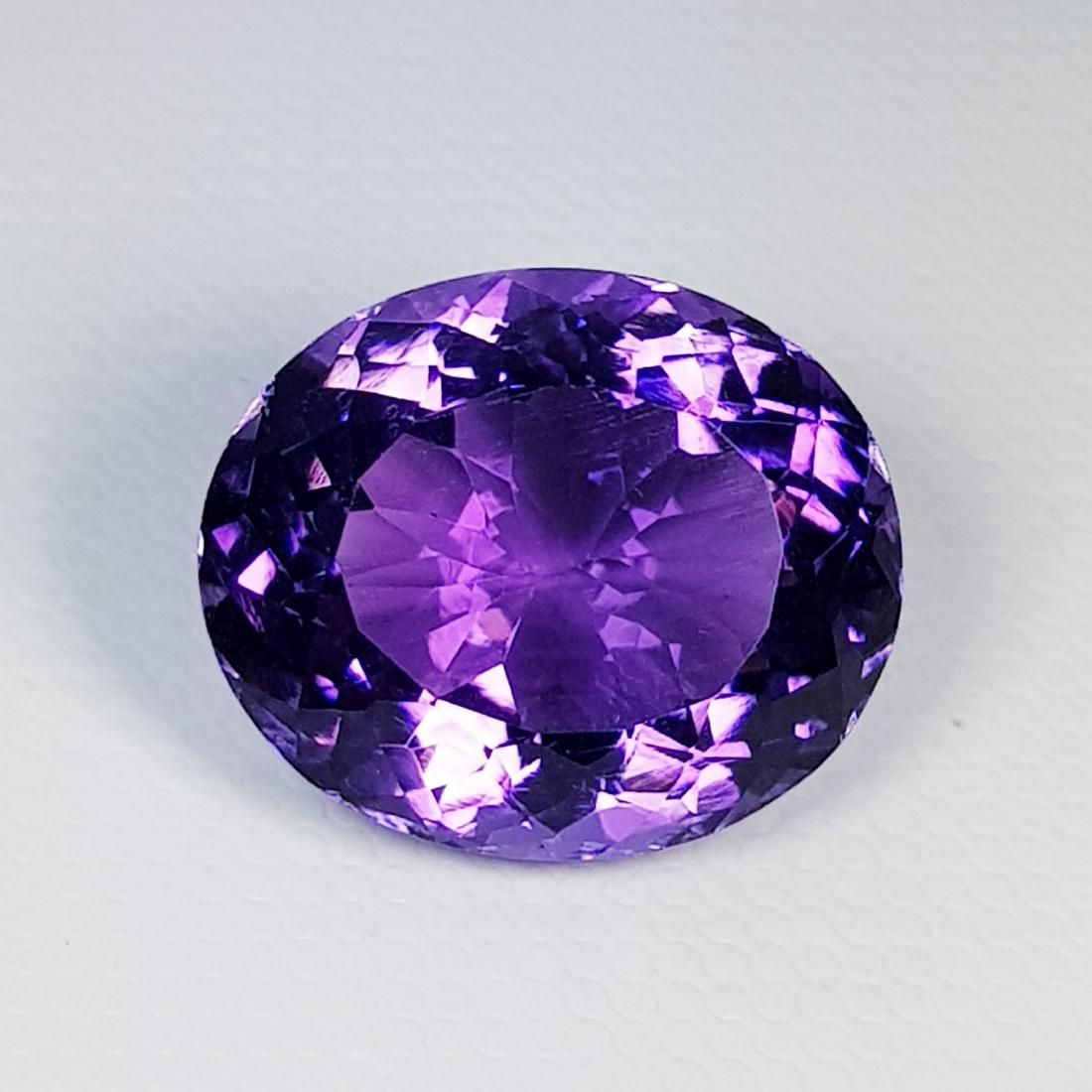 Natural Amethyst Oval Cut 12.05 ct